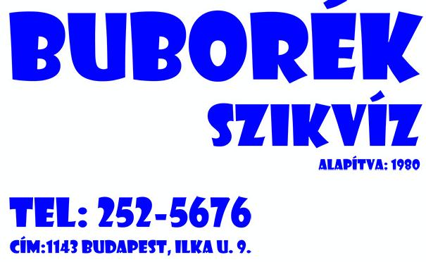Szikvíz készítés, Üdítőital, Szörpök - BUBORÉK Szikvízkészítő Kkt.