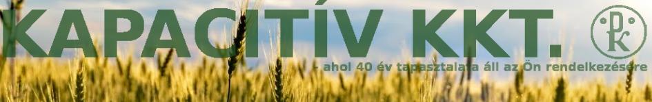 Mezőgazdasági és laboratóriumi műszerek gyártása, forgalmazása, javítása - KAPACITÍV Kkt.