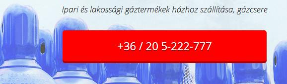 Ipari Gáz Forgalmazás, Gázpalack házhoz szállítás - RESPECT MEDIA Kft.