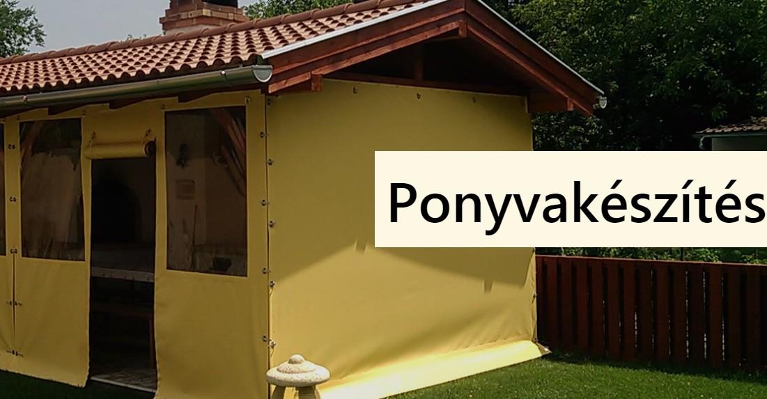 Teraszponyva, Ponyvakészítés Szigetszentmiklós - Ponyvaművek