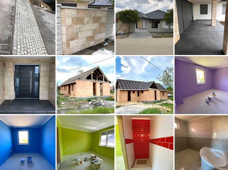 Generálkivitelezés, Kulcsrakész házak, Ingatlan építés és értékesítés - BRANDUS-KER Kft.