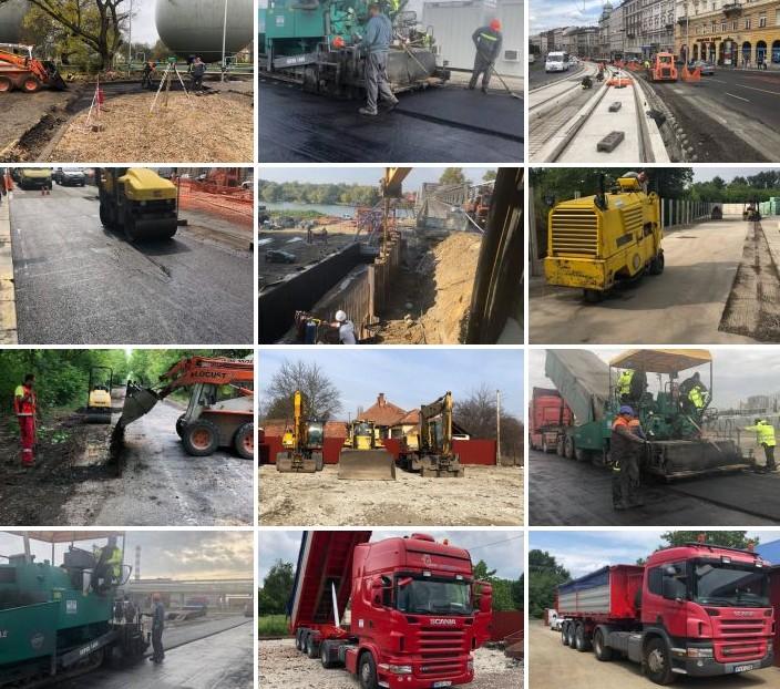 Földmunkagépek bérbeadása, Aszfaltozás, Mélyépítés, Épületbontás - VIR-SUG 2005 Kft