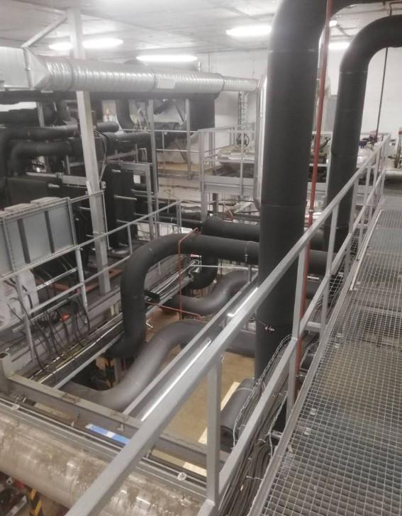 Ipari Épületgépészeti kivitelezés