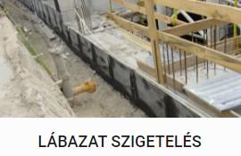Lábazat szigetelés - DOMINIK BAU Kft.