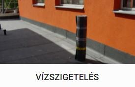 Vízszigetelés - DOMINIK BAU Kft.